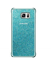 New OEM Samsung Protective Blue Glitter Case For Samsung Galaxy Note 5