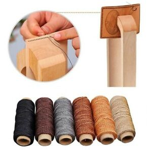 Tool Hand Stitching Handicraft DIY Cord Waxed Thread Leather Sewing Line