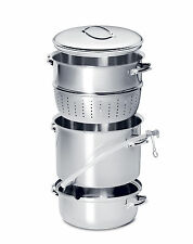 2 EACH MEHU-LIISA 11 Litre Stainless Steel Steam Juicers~NEW