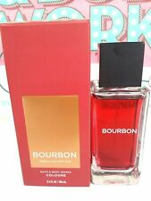 Bath and & Body Works Men's Collection BOURBON For Men Cologne Spray 3.4 oz