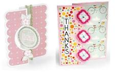 SIZZIX Pack of 2 DIES CARD, TRIPLE PLAYFUL FLIP-ITS, CIRCLE FLIP-ITS #2