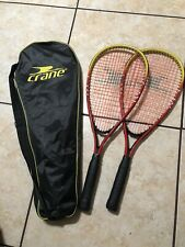 New listing 2 Crane Squash Racquet With Bag (Only Used Twice)