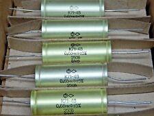 0.68uF 5%  250V Hi-End Polystyrene K71-4 capacitors Lot 10pcs.