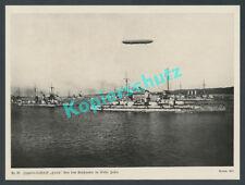 """Renard Zeppelin LZ 13 """"Hansa"""" Kaiserliche Marine Geschwader Kiel Luftfahrt 1912"""