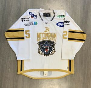 Nottingham Panthers Game Worn Signed Jersey