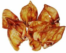 1 kg Schweineohren ca. 20 Stück getrocknet Kauartikel Barfen Hundefutter Schwein