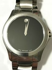 MOVADO Masino Black Dial Stainless Steel Men's Watch Item No. 0607032