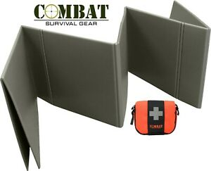 Combat Survival Gear Nato Folding Sleeping Mat Military/Cadets + First Aid kit