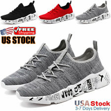 Men's Running Casual Shoes Athletic Fashion Non-slip Walking Tennis Sneakers Gym