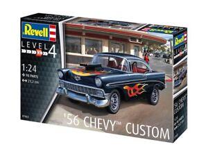 Revell 07663 - 1/24 '56 Chevy Customs - Neuf