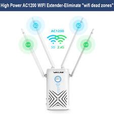 Wavlink AC1200 Dual Band Gigabit WIFI Range Extender Wireless Signal Booster&WPS