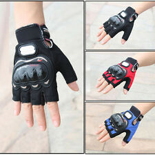 Half Finger Gloves Motocross Racing Pro-Biker Cycling Motorcycle Protective