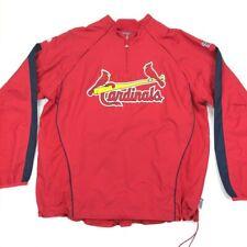 St Louis Cardinals Men's Majestic Cool Base Convertible Windbreaker Jacket XL