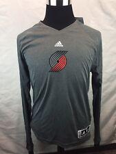 Adidas NBA Women's Portland Trail Blazers Climalite Shirt Sz 2XL Warm Up X20
