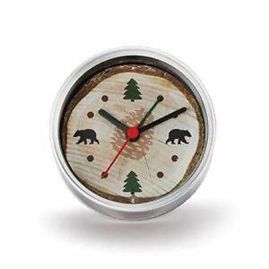 DEMDACO Big Sky Carvers Lodge Clock-n-Can