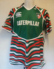 LEICESTER TIGERS 2012/13 HOME PRO JERSEY BY CANTERBURY SIZE 10 YEARS BRAND NEW