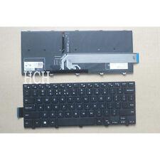 For Dell Inspiron 14-3000 3443 3451 3458 3468 3445 3442 keyboard US backlit