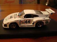 1/43 Porsche 911 930 Slant Nose Kremer K3 Travel Cruiser LeMans 1981 Dick L Rare