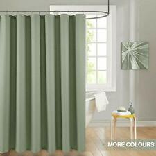 Shower Curtain Green Sage Curtains Drapes Metal Grommets Top For Bathroom Waffle