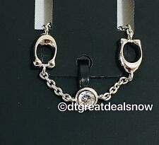 NEW COACH Signature C Chain Linked Ring Size 6 CRYSTAL F37668 $65