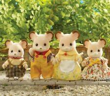 Sylvanian Families-Conjunto de familia de ratón de campo *** *** ideal Regalo De Navidad