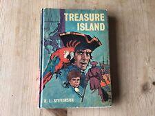 TREASURE ISLAND BY R.L. STEVENSON BANCROFT CLASSICS BOOK Hardback 1970 Rare