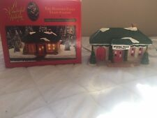 Its A Wonderful Life Village The Bedford Falls Train Station Target 1994~