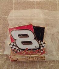 Dale Earnhardt Jr #8 Pin Nascar Racing Checkered Flag