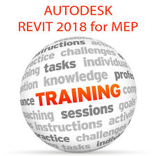 REVIT 2018 for MEP (metric) - Video Training Tutorial DVD