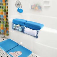Bath Kneeler with Elbow Rest Pad Set with Bath-tub Spout Cover, Hoohome Baby Bat