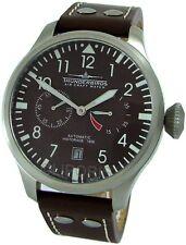 Thunderbirds AUTOMATIC 25Steine XXL Fliegeruhr pilotwatch Herrenuhr B - Ware