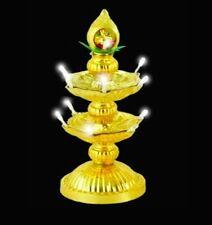2 Layer-Electric Gold Diya Deepak LED Lamp Diwali Home decoration LED Light