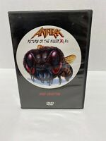 Anthrax - Return of the Killer As Video Anthology (DVD, 1999)