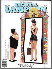 NATIONAL LAMPOON THE HUMOR MAGAZINE NOVEMBER 1978 (VG)