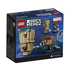 LEGO ® MARVEL ™ Brickheadz 41626 Groot /& Rocket-NUOVO /& OVP