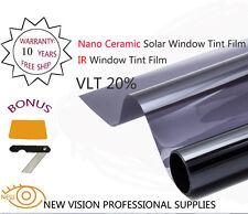 NEW VISION VLT20% IR Reduction 80% 76cmX6m SRC IR Window Tint Film Nano Ceramic