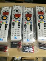 LOT OF 4 New!!! DIRECTV RC66RX IR Universal Remote W/Batteries, OEM REPLACEMENT