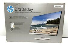 "GENUINE HP - 27q 27"" LED QHD Monitor - Pike Silver 3FV90AA#ABA"