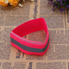 Flashing Safety Reflective Belt Strap Arm Band Armband for Cycling Running 2018 Pink