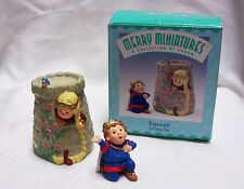 1998 Merry Miniatures Figurines Rapunzel Miniatures Charms Hallmark Handcrafted