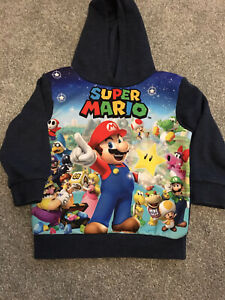 boys jumpers 4-5 years super mario