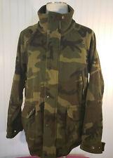 Columbia Camouflage Wool Fleece Jacket Green Duck Hunting Sz XL Men's