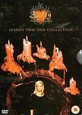 BUFFY THE VAMPIRE SLAYER-2 nd Season Two-6 DVD Box Set-R2-Brand New-Still Sealed
