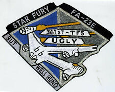 B5 Babylon 5 Ugly But Well Hung Squadron Iron-on Patch