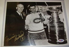 MAURICE RICHARD MONTREAL CANADIENS SIGNED 8x10 PHOTO PSA/DNA V53404