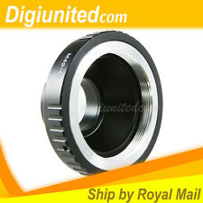 Carl Zeiss M42 screw lens to C mount 16mm Cine camera adapter Eclair Bolex NPR