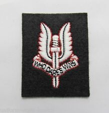 British Army SAS Cloth Beret Badge Patch Military R484