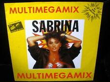 "12"" maxi single SABRINA multimegamix SPANISH rare PROMO 1988 4-tracks ITALO mix"
