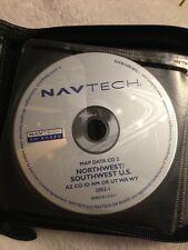 BMW Range Rover GPS Navigation CD 2 Northwest Southwest AZ CO ID WA WY NavTech