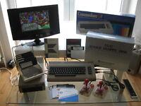 Super Commodore C64 Komplett Set mit Floppy 1541 Joystick in OVP - Versiegelt OK